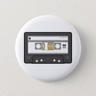 De audio Knoop van de Cassette Ronde Button 5,7 Cm