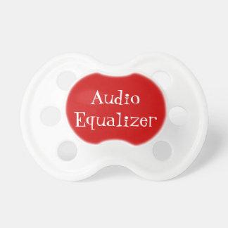 De audio Knoop van de Equaliser Speen