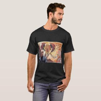 De audio T-shirt van het Mannen van de Hersenschim