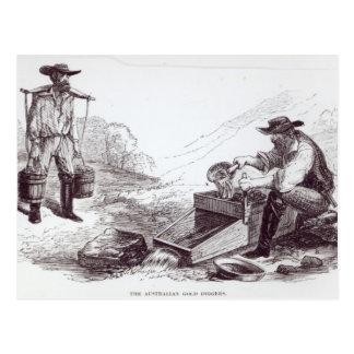 De Australische Goudzoekers Briefkaart
