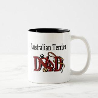 De Australische Mok van de Papa van Terrier