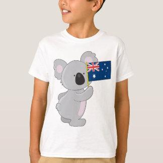 De Australische Vlag van de koala T Shirt