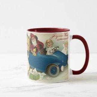 De Auto van de kerstman Mok