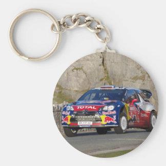 De Auto van de Verzameling WRC Sleutelhanger