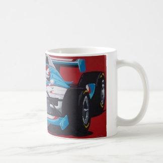 De automok van Indy Koffiemok