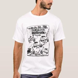 De Autopedden van mod. T Shirt