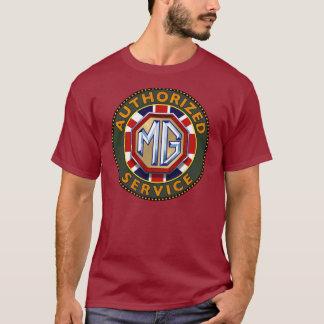 De auto's vintage teken van MG T Shirt