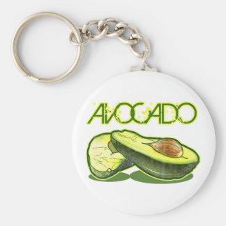 De avocado sleutelhanger