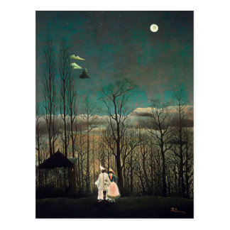 De Avond van Carnaval van Rousseau Briefkaart