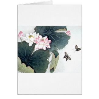 De Aziatische Koele Kunst van de Vlinder van de Kaart