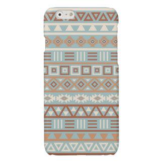 De Azteekse Blauwe Room Terracottas van het Glossy iPhone 6 Hoesje