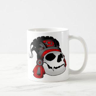 De Azteekse Kop van de Koffie van de Schedel van