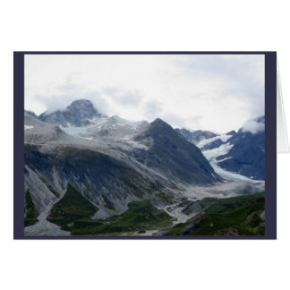 De Baai Alaska September 2016 van de gletsjer Briefkaarten 0