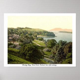De Baai van Bantry, Cork, de druk van de 19de Poster