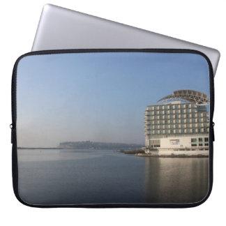 De Baai van Cardiff (de Zomer) Computer Sleeve