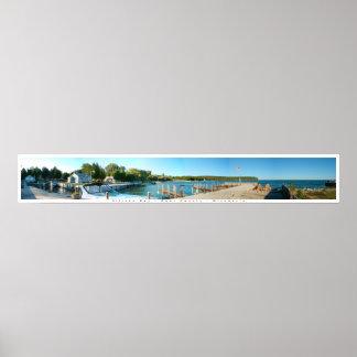 De Baai van Ellison, Wisconsin Poster