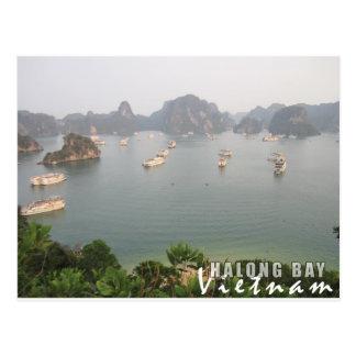 De Baai van Halong, Vietnam Briefkaart