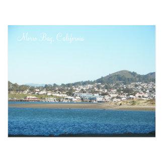 De Baai van Morro, Californië Briefkaart