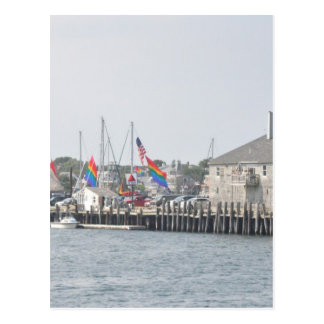 De Baai van Provincetown Briefkaart