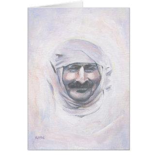 De Baba van Meher met tulband Kaart