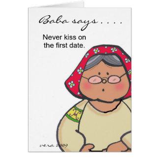 De baba zegt… om door Vera Trembach te Briefkaarten 0