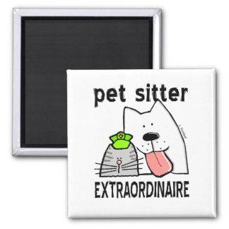 De Babysitter Extraordinaire van het huisdier Magneet