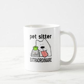 De Babysitter Extraordinaire van het Huisdier van Koffiemok