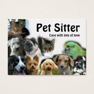 De Babysitter van het huisdier Visitekaartjes