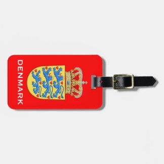 De Bagage Tage van het Wapenschild van Denemarken Kofferlabel