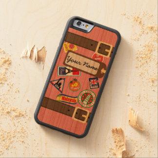 De Bagage van de reis met iPhone 6 van de Bumper Kersen iPhone 6 Bumper Case