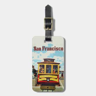 De bagagelabel van de Reis van San Francisco