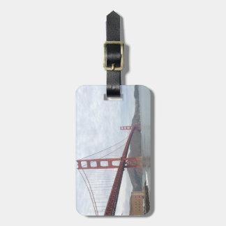 De bagageLabel van golden gate bridge