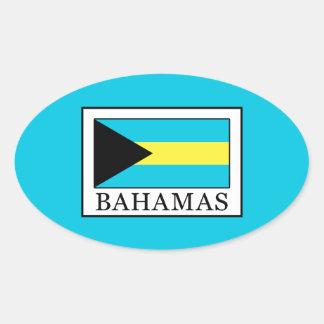 De Bahamas Ovale Sticker