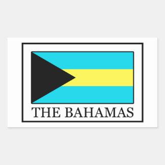 De Bahamas Rechthoekige Sticker