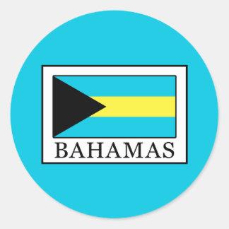 De Bahamas Ronde Sticker