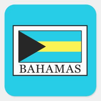 De Bahamas Vierkante Sticker