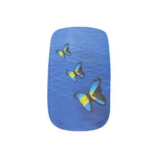 De Bahamiaanse Minx van de Vlinder Minx Nail Art