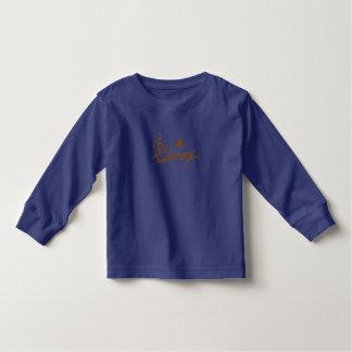 de bakkerij kinder bruin manuscript van carney t-shirt
