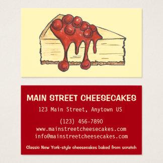 De Bakkerij van de Kaastaart van de Stad van NYC Visitekaartjes