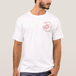 De Bakkerij van zwarte Billy - rode zak gfx T Shirt