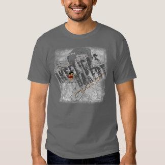 De bakkerij zwarte spanning van de engelwortel t-shirt
