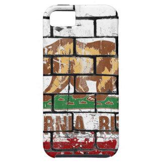 De Bakstenen muur Grunge van de Vlag van Tough iPhone 5 Hoesje