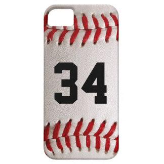 De Bal en het Aantal van het honkbal Barely There iPhone 5 Hoesje
