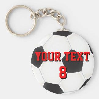 De Bal Keychain van het Voetbal van de douane Sleutelhanger