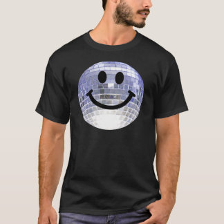 De Bal Smiley van de disco T Shirt