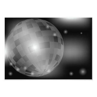 De Bal van de disco Kaart