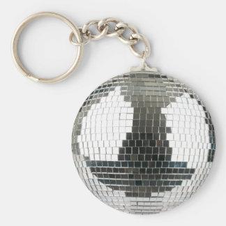 De Bal van de Disco van Mirrorball Sleutelhanger