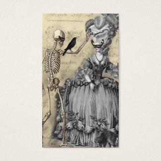 De Bal van de Maskerade van Halloween Visitekaartjes