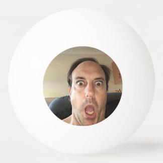 De Bal van de pingpong met een grappige mening Pingpongbal