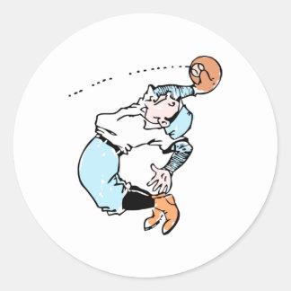 De Bal van de vlieg Ronde Sticker